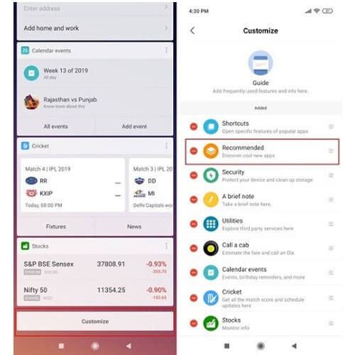 Gỡ bỏ ứng dụng Xiaomi redmi 8, 8A