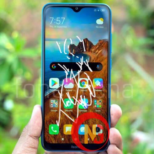Mặt kính Xiaomi Redmi 8A bị hở keo