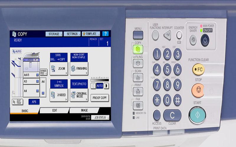 Các thao tác thường thực hiện trên máy photocopy