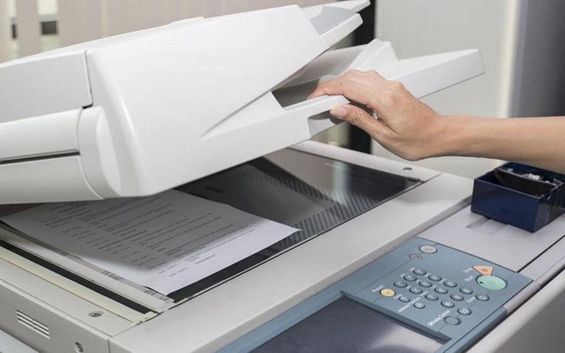 Hướng dẫn cách copy tài liệu trên máy photocopy