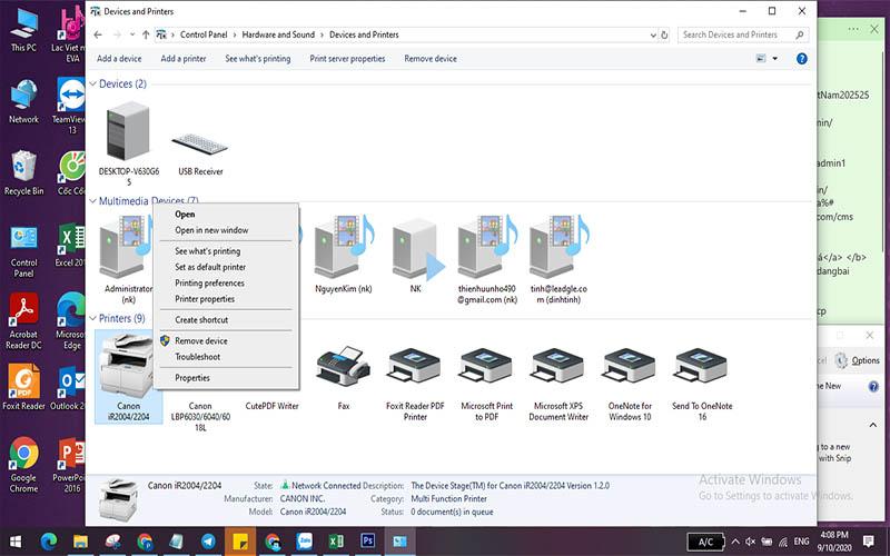 Photo 2 mặt trên máy tính