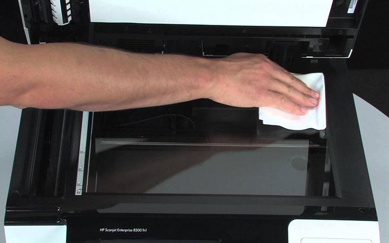 Cách khắc phục lỗi máy photocopy bị vệt đen