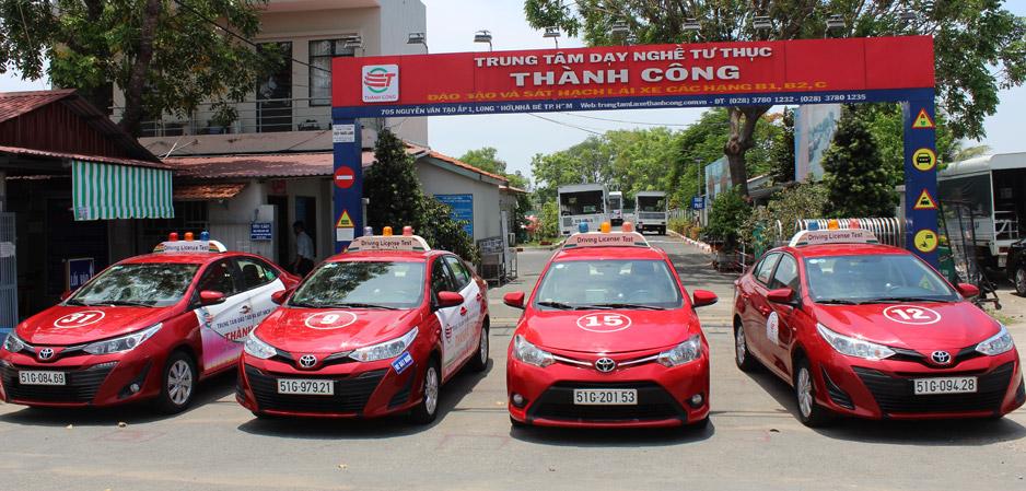 Trung tâm đào tạo lái xe Thành Công