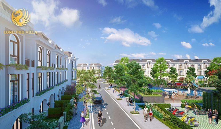 Quy mô dự án Long Phú Villa Long An