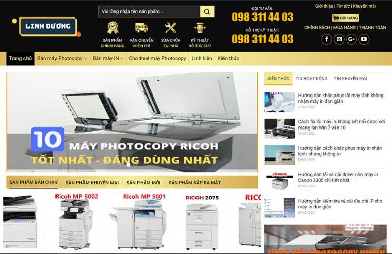 Linh Dương đơn vị bán máy photocopy Canon cũ chất lượng tại TPHCM
