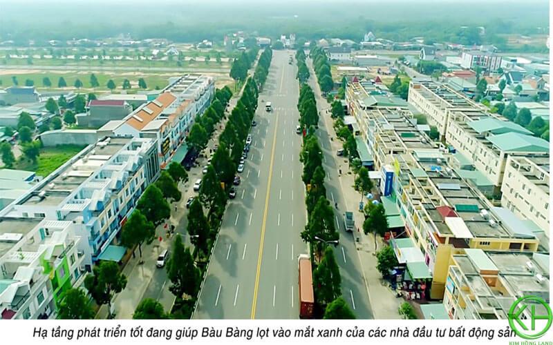 BĐS Bàu Bàng đang phát triển mạnh